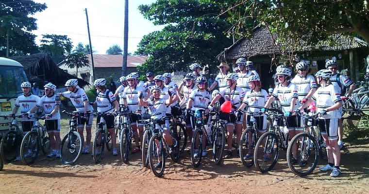Kenya Cycling Camping Safari