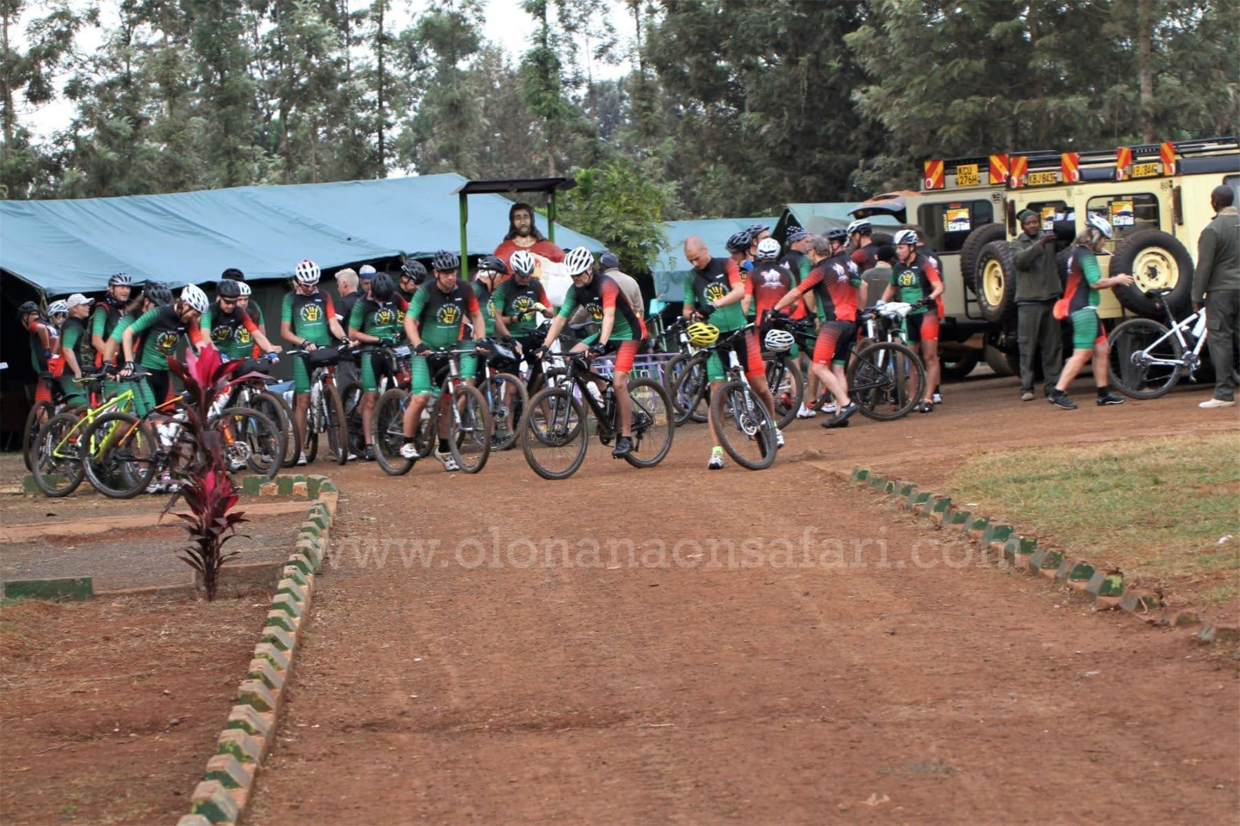 Kenya Cycling Tour
