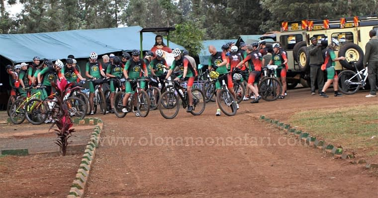 Kenya Cycling Tour