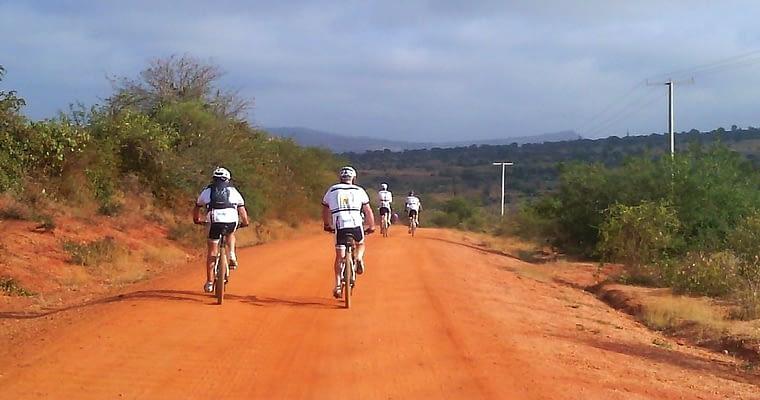 Kenya Cycling Safari  Route Mapping